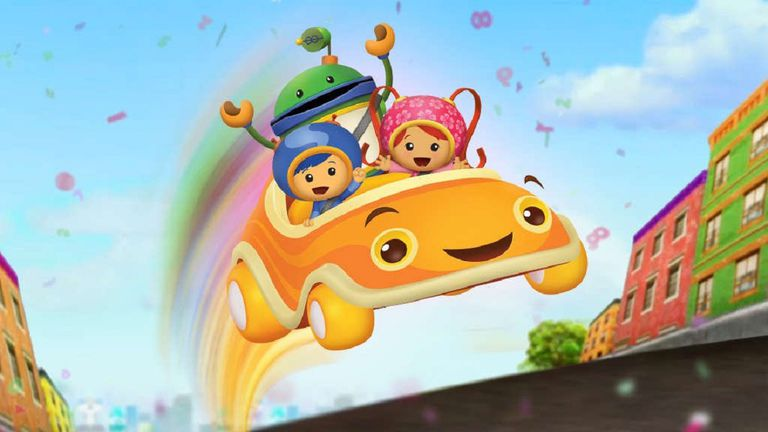 """""""Team Umizoomi"""" image showing characters from the show."""