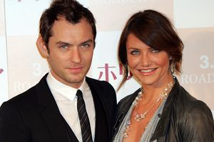 'The Holiday' Movie Actors Cameron Diaz and Jude Law