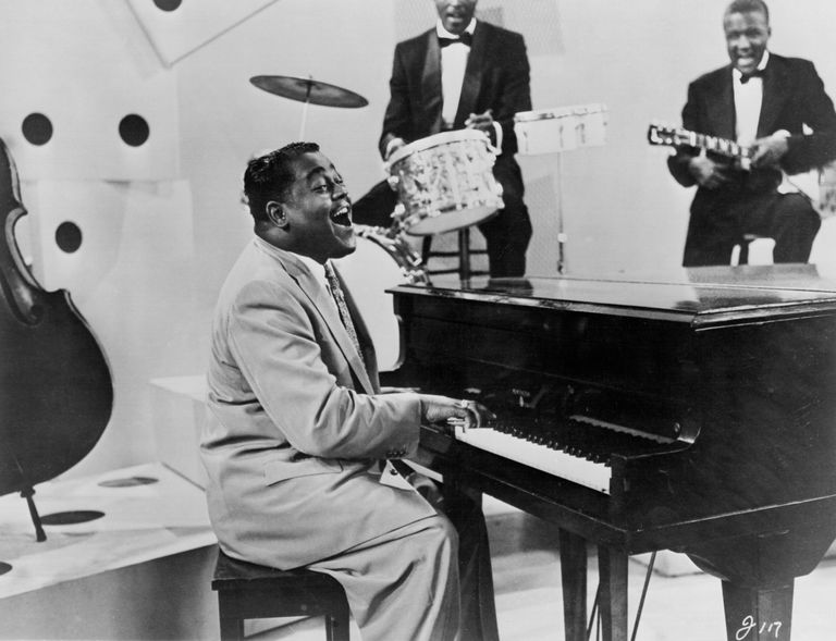 Fats Domino Performing on TV