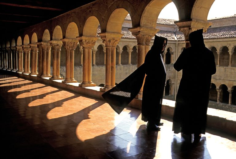 Monks at the Monastery of Santo Domingo de Silos