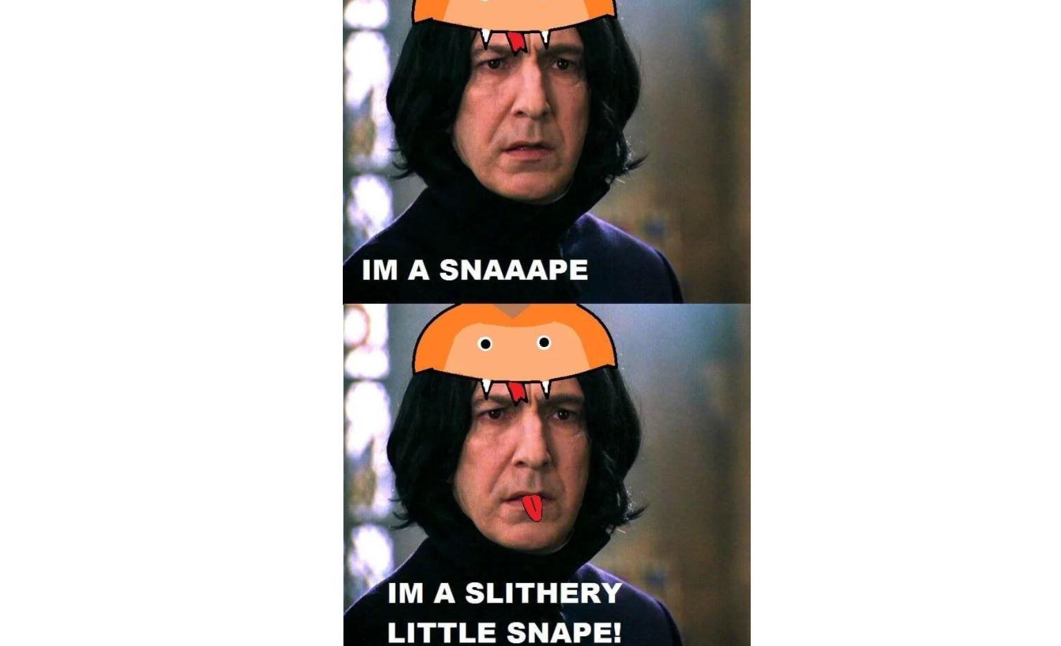 Slithery Snape meme