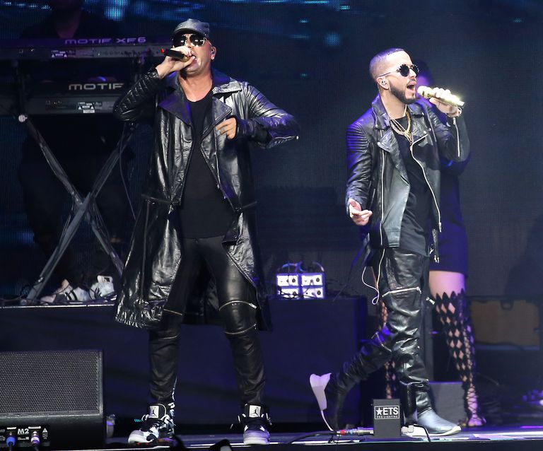 Wisin Y Yandel perform onstage during CALIBASH 2019 - Night 1 held at Staples Center in Los Angeles