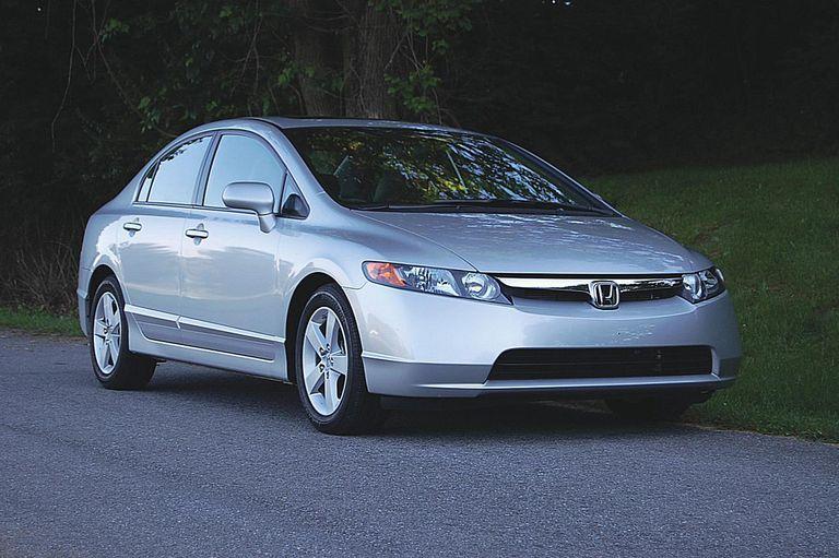 Honda Civic EX right side shot