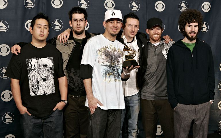 Linkin Park at the Grammys