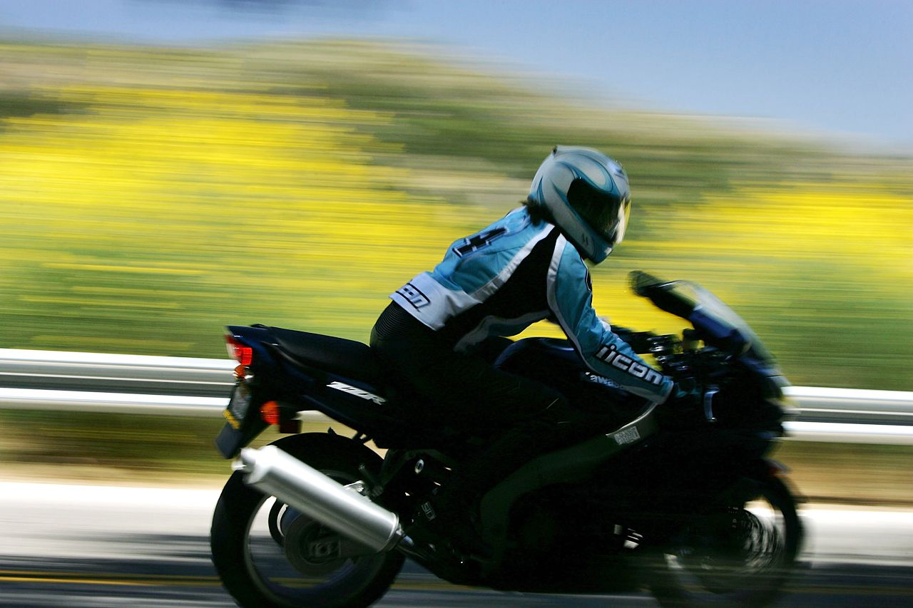 Speed on a Motorcycle