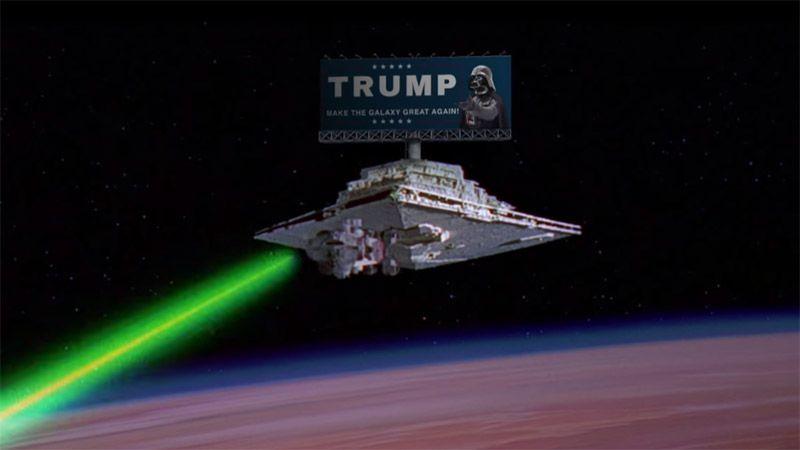 Trump 2016 Imperial Star Destroyer