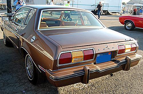 1975 Mustang II Rear