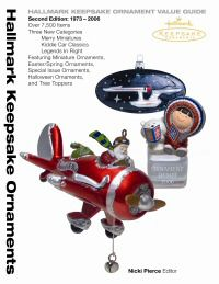 cover of book on Hallmark keepsake ornaments