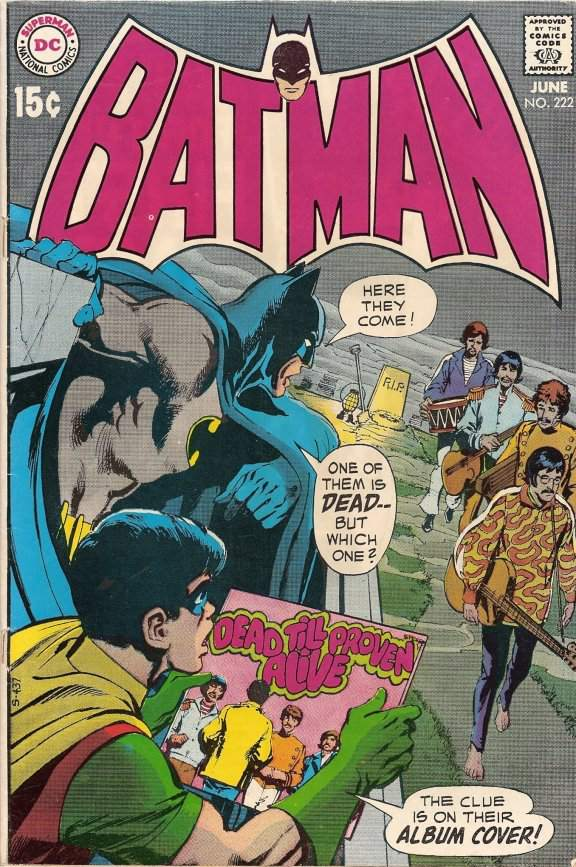 "A ""Batman"" comic that references ""Paul is Dead"""