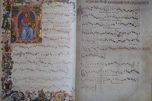 A manuscript from Francesco Landini