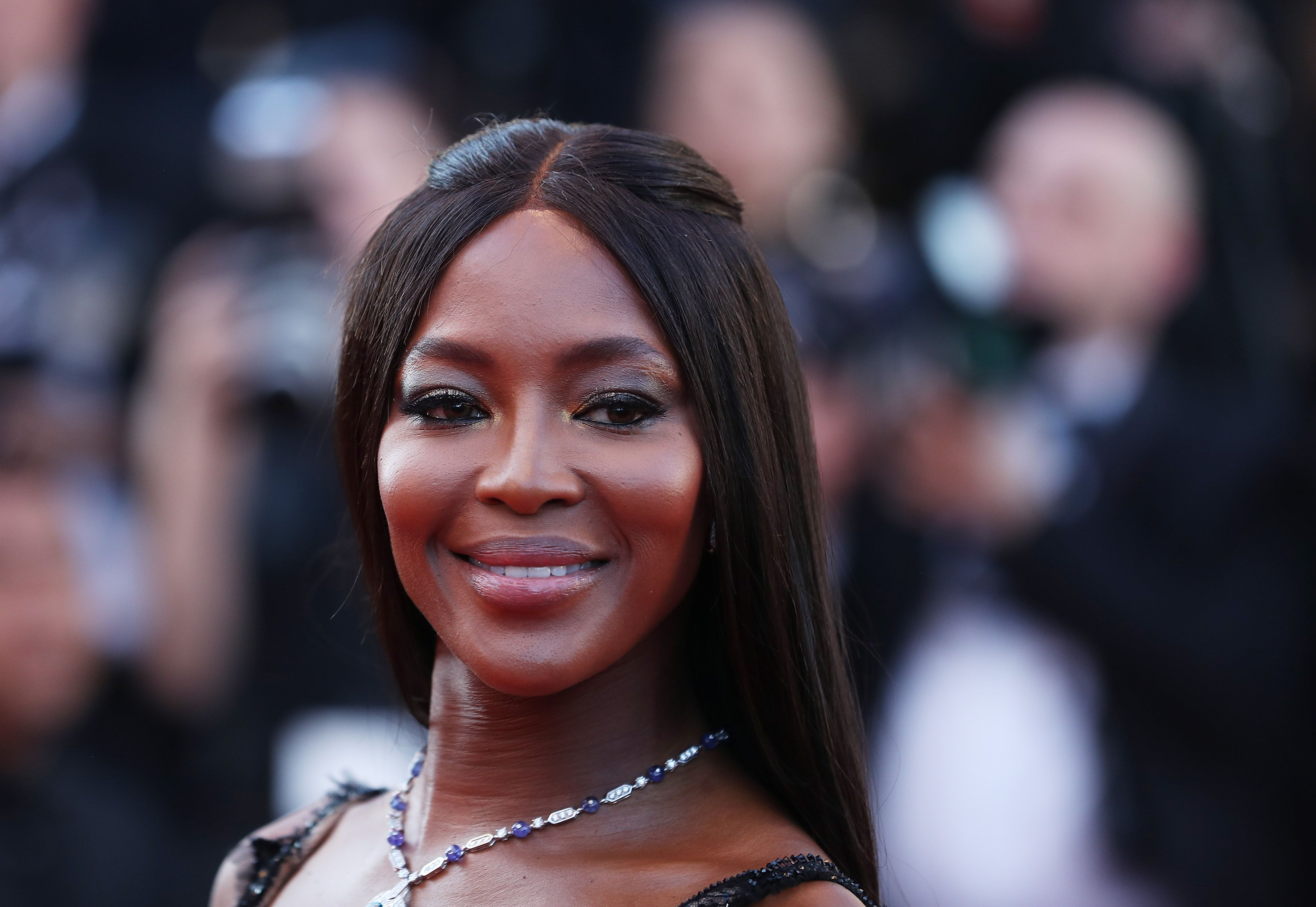 Naomi Campbell—Doesn't Overdo Anything in Caring for Her Skin
