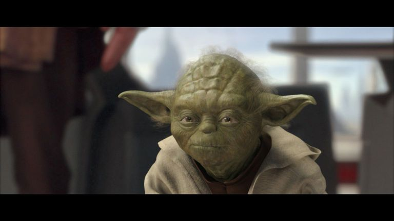 Jedi Master Yoda in Episode II
