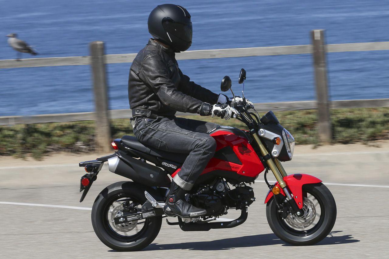 Honda Grom Review >> 2014 Honda Grom Motorcycle Review