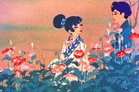 1950s Anime Film, The Tale of the White Serpent / Panda and the Magic Serpent