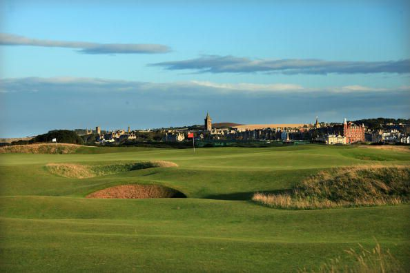 Old Course at St. Andrews Hole 13