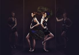 Twins in a House of Mirrors