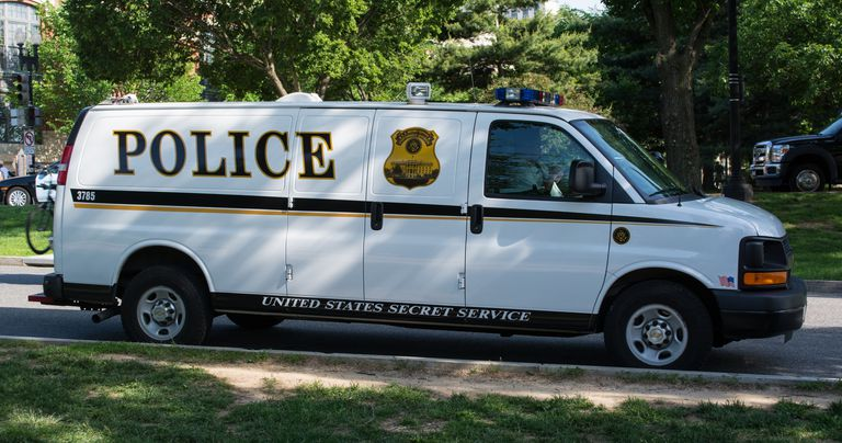 United States Secret Service van - Washington DC