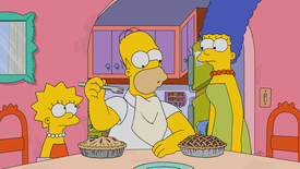 homer with multiple pies