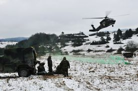 Joint Multinational Readiness Center in Hohenfels, Germany