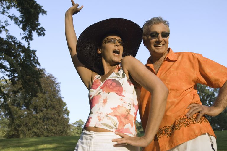 Traveling and having fun is top priority for some grandparents.