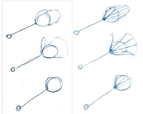 Drawing Manga Hands Step 1