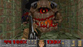 Doom II FPS gun and demon