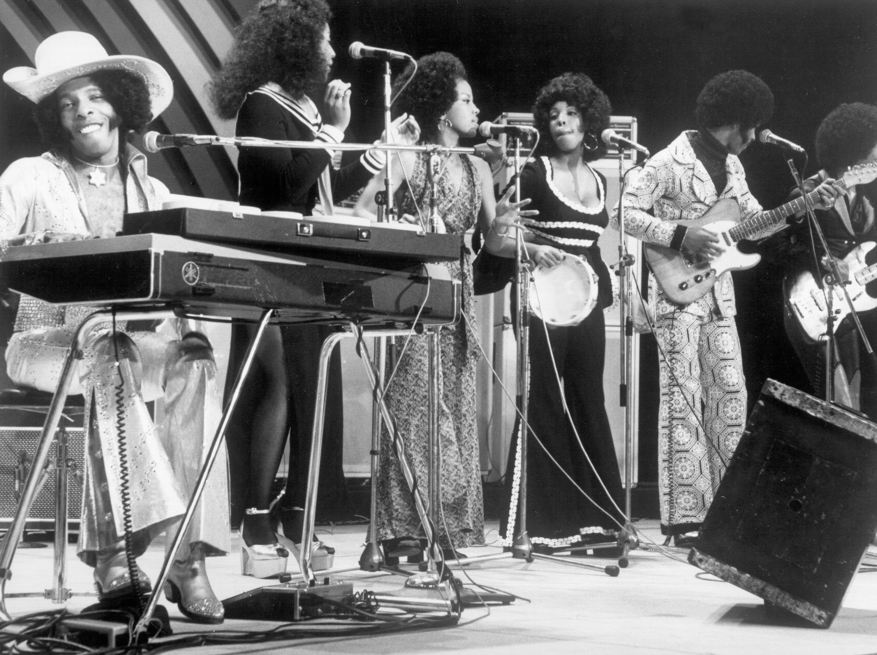 Sly & The Family Stone performing