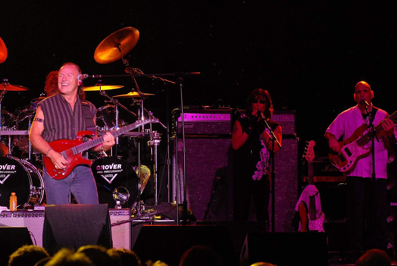 Mark Farner of Grand Funk Railroad perfoms at the Classic Rock