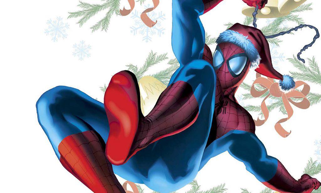 Spiderman Christmas.10 Best Spider Man Christmas Stories