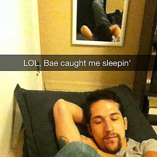 20 People Who Were Caught Sleeping By Their Baes