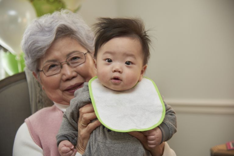 Asian American grandparents are very involved in their grandchildren's lives.