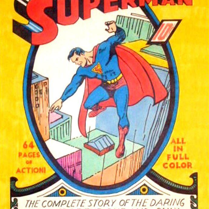 Superman's first comic