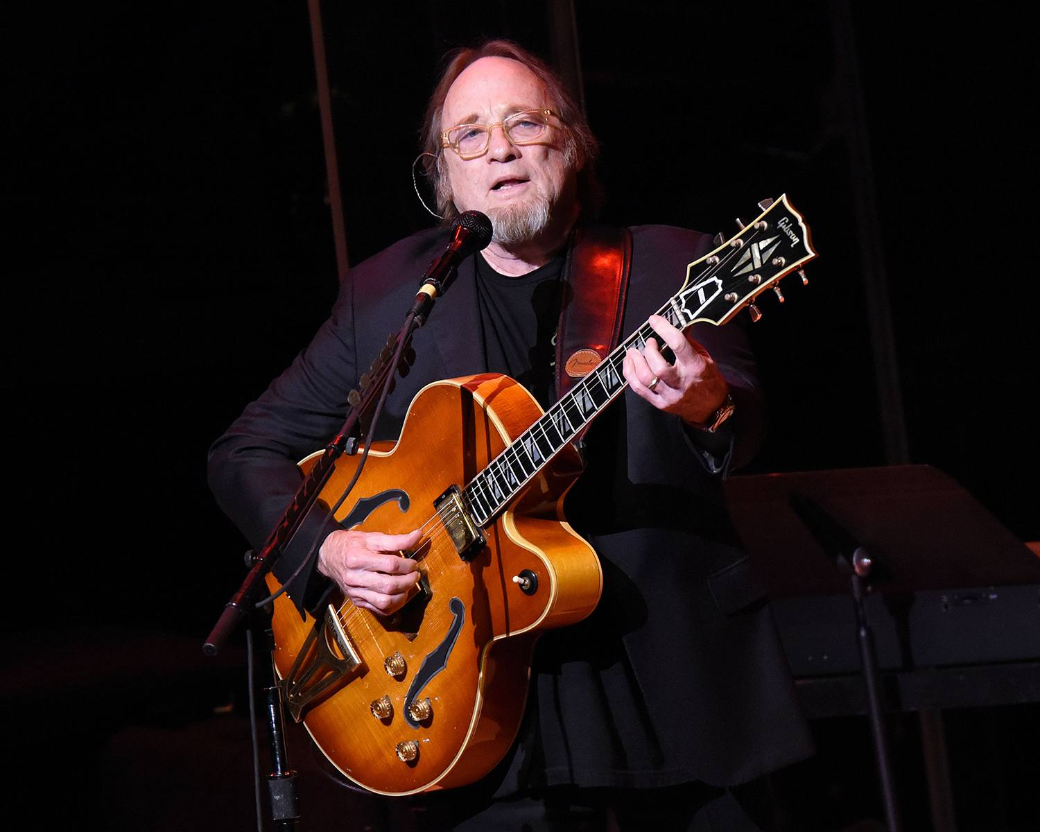 Stephen Stills of Crosby, Stills, Nash, And Young performs