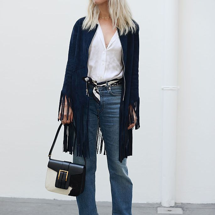 Street style in jeans