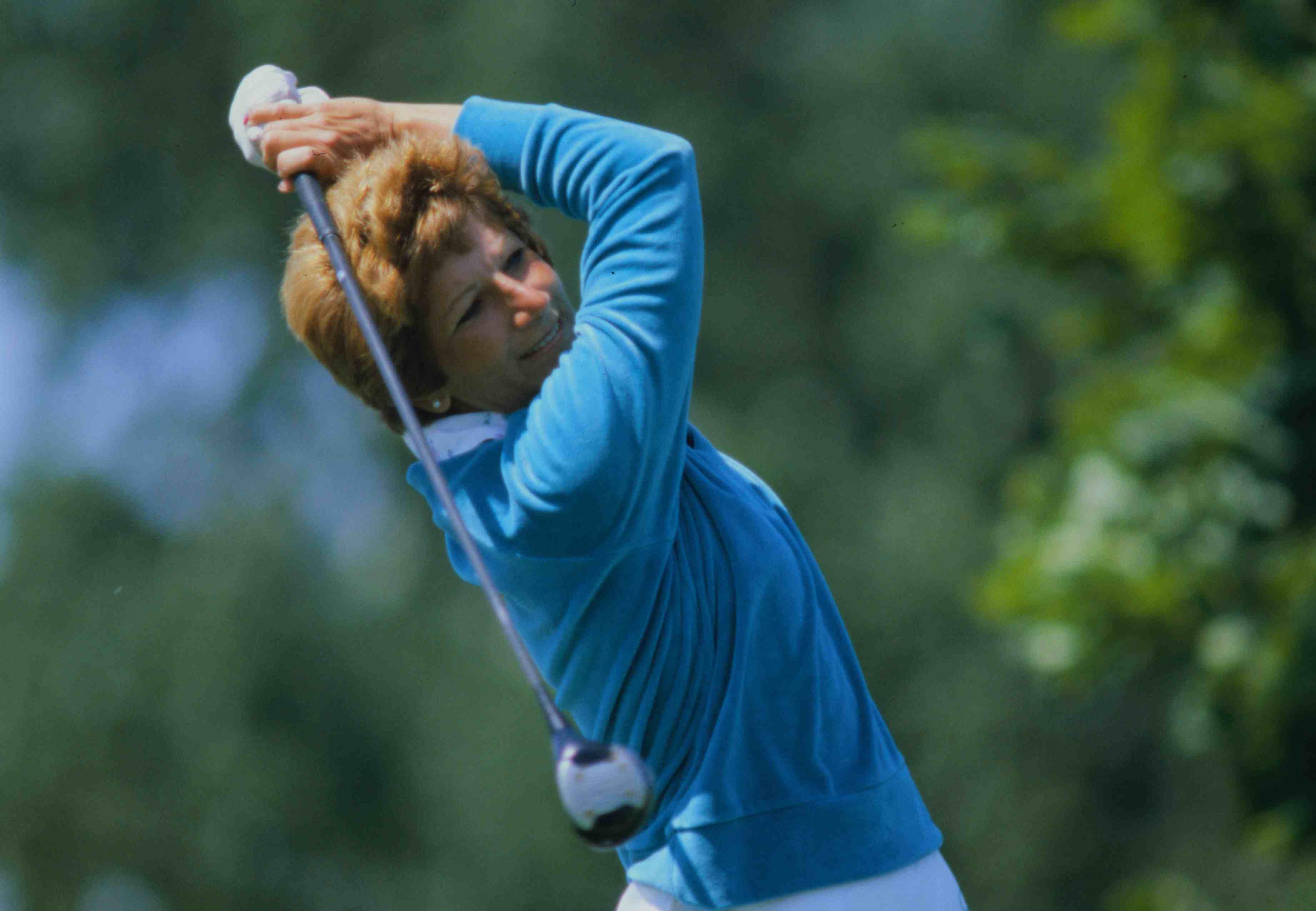 Golfer Donna Caponi in 1980