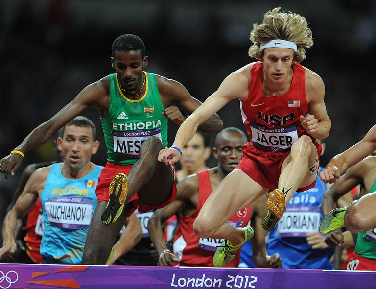 London 2012 Steeplechase Event