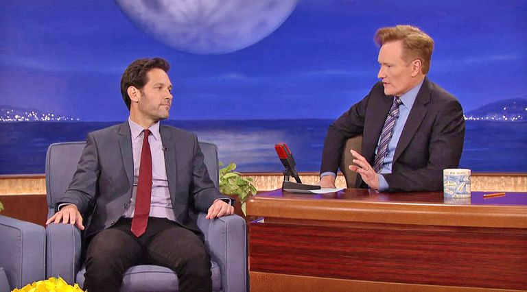Paul Rudd on Conan, with Conan O'Brien