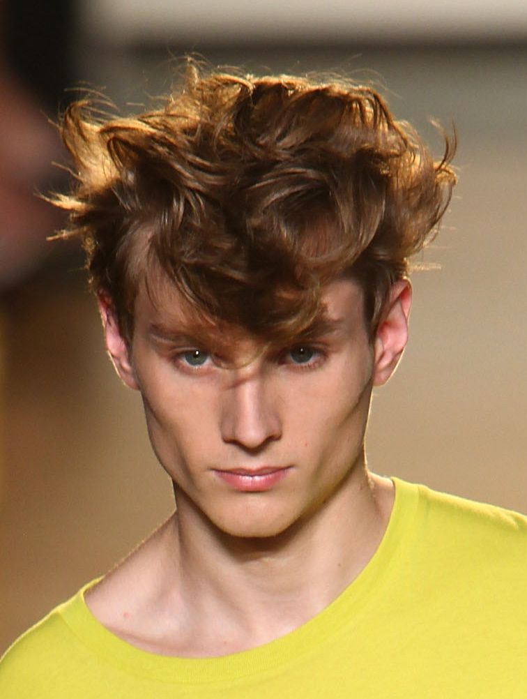 Deliberately Messy And Tousled Mens Hairstyles