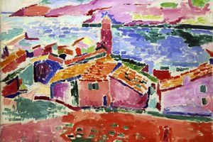 View of Colliure, c1905, Henri Matisse