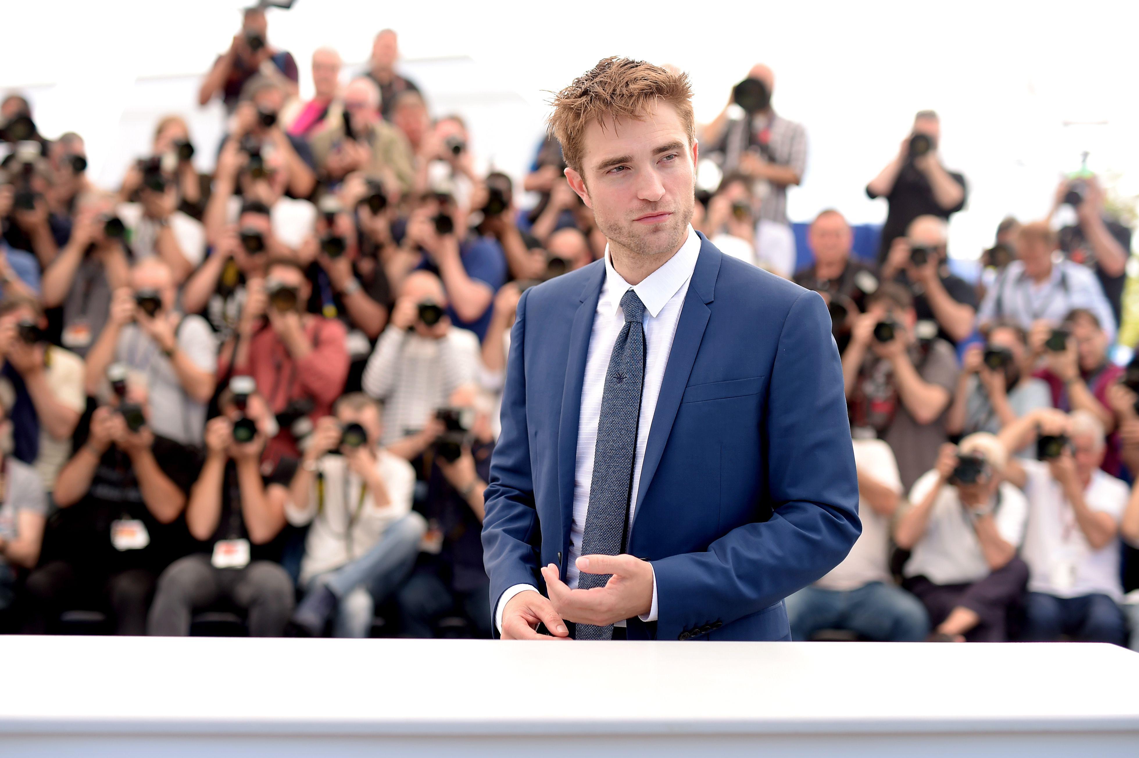 Robert Pattinson at a film festival