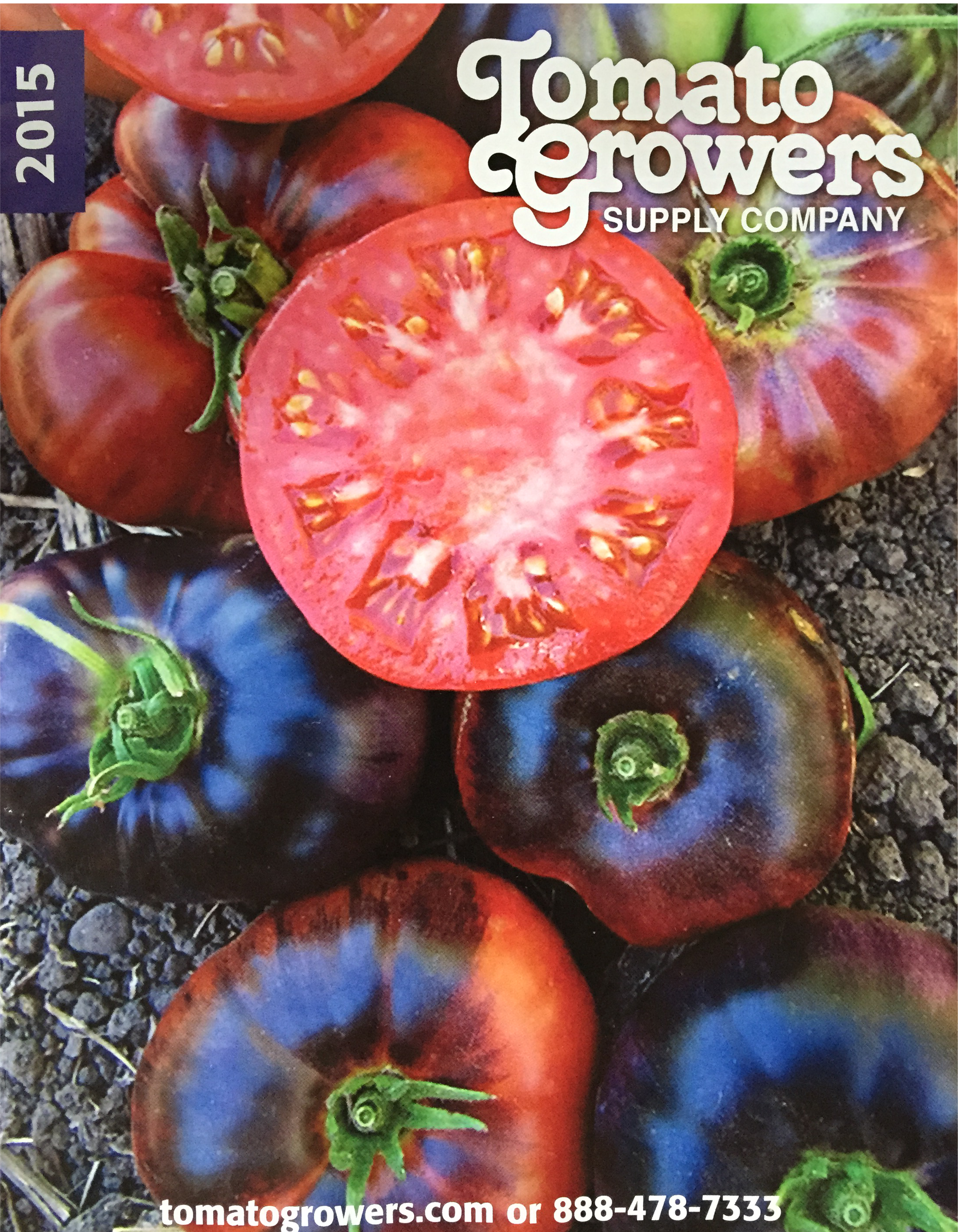 Picture of a free catalog from Tomato Growers Supply Company