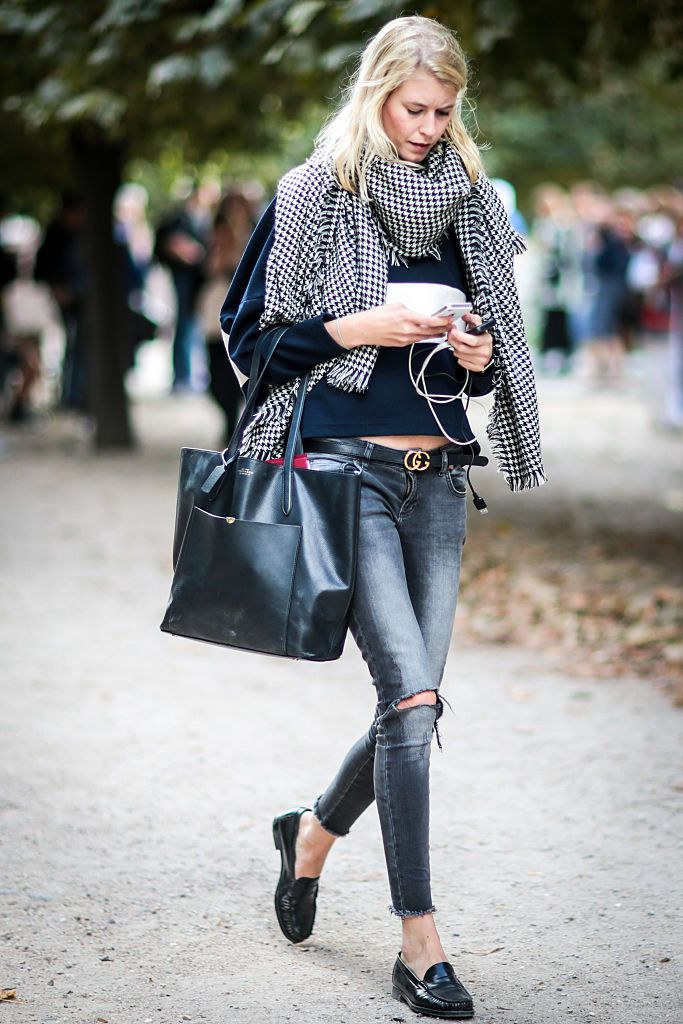 d70c94e44e0 What to Wear With Grey Jeans  Stylish Outfit Ideas