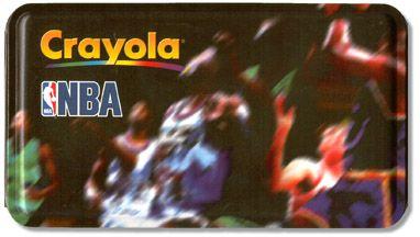 Crayola NBA Tin