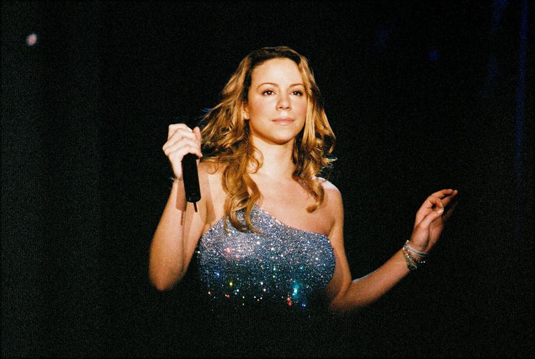 Mariah Carey Performs At Wembley Arena In 2000