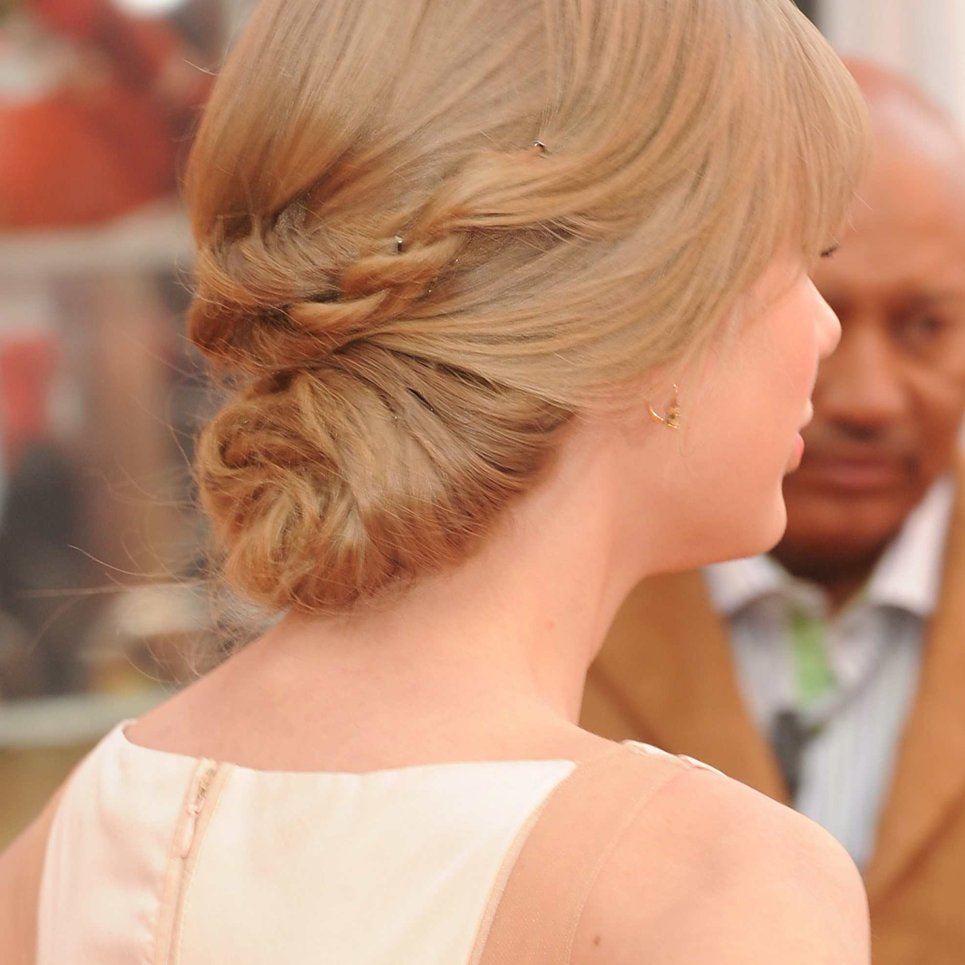 formal hairdo