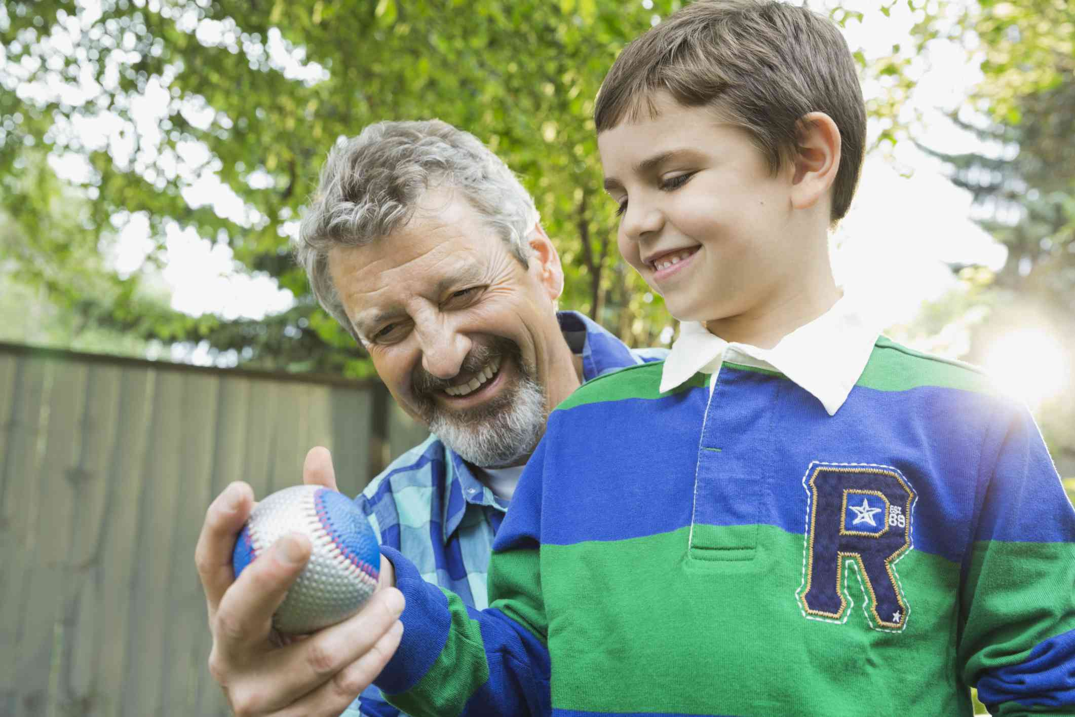 old-fashioned ball games to play with grandchildren
