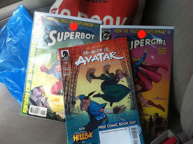 Comic books gotten online