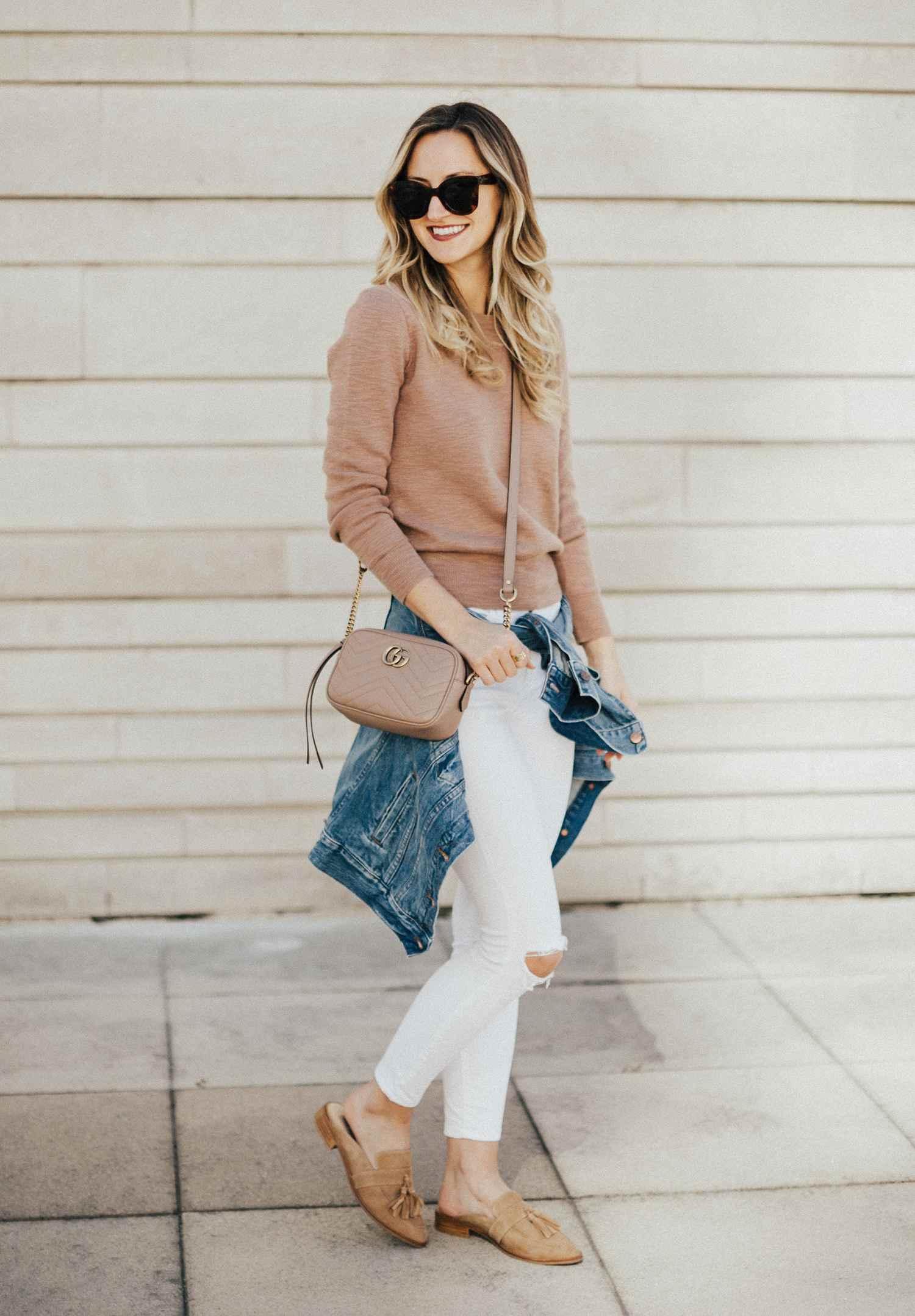 c166cda825cbc7 14 Chic Ways to Rock White Skinny Jeans