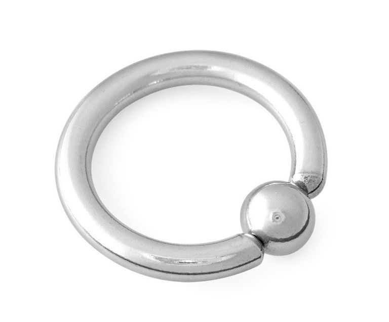10 gauge captive bead ring