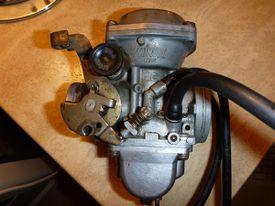Mikuni BS 36 SS Carburetor from a Suzuki GN400